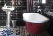 Bathrooms / Baños. Decoración, estructura y espacios.