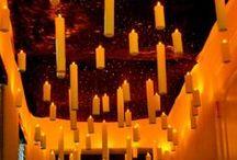 Candelas y candelabros