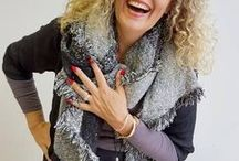 Scarves for cooler weather / We love our scarves a little oversized and super comfy to wear! Chunky knits, pure cottons, silky viscose or scretchy rayons are all part of the Kobomo collection of winter accessories we love love (love) to wear all day.