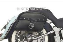 Borse moto custom / Borse laterali, borselli porta attrezzi, borse per sissy bar