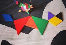 tangram vs origami / tangram versus origami stuff