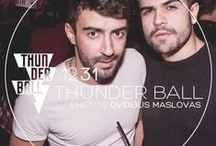 "NYE 2015 ""THUNDER BALL"" Dec 31st 2015 / ⚡Thunder Ball – New Year's Eve 2015 ⚡ presented by GMF Berlin and Revolver Party  Queer Party Giants GMF and REVOLVER PARTY are teaming up this year to ignite the capital´s hottest New Year´s Eve Party Explosion – Thunder Ball!"