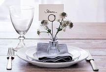 Party Ideas / Great moments require celebrating in style. Get inspired to set the table, decor your house and start the party now!