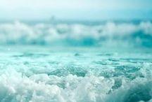 Sea glass | Aqua | Turquoise / Curating the best sea glass . aqua . turquoise color inspired photos.
