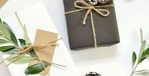 Wrapping with Style / A beautiful package can turn a simple present into a really meaningful one.