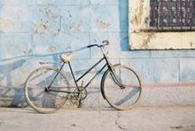 Bicycles / I am a happy owner of a beautiful vintage cherry bicycle and I love to discover the way other people ride.