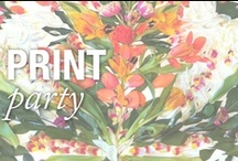 Print Party / Patterns come to life / by Nicole Miller