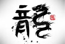 Chinese dragon calligraphy / by Diah Tan