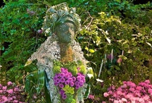 Garden Whimsy / Whimsical additions to give your garden that special touch.