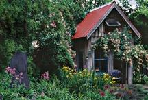 Garden Sheds & Hideaways / Garden storage and organization with style!
