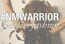 #NMwarrior / Inspired by female warriors, strong women, and fearless fashion. How far will you go? / by Nicole Miller