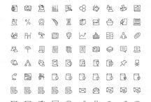Mini icon drawings