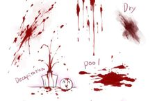 Blood drawings / blood