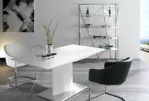 White, White, White / White furniture, fresh and stylish