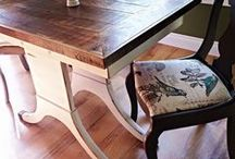 Upcycled Furniture / We have a strong passion for turning old furniture into new creations.