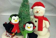 F&W Christmas - vintage and new, ornaments an joy for you! / Christmas ornaments and more holiday cheer!