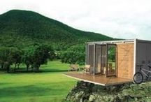 Shipping container living