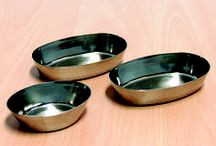 Articoli per gastronomia e pasticceria in acciaio inox. / Produzione di forme, stampi e articoli per gastronomia e pasticceria realizzati in acciaio inox.