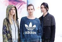 Adidas Originals Fall/Winter 2014 Lookbook / Adidas Originals launches the Fall/Winter season with two special capsules: Carnovsky prints feature for men and a basketball-inspired NBA collection for women.