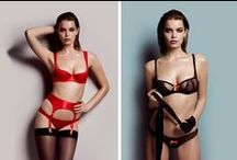 """L'Agent by Agent Provocateur - Fall/Winter 2014 Lookbook / L'Agent by Agent Provocateur presents its latest lookbook, accompanying the  """"Billboard Brights"""" collection."""