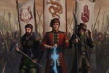 Wheel of Time / Dedicated to the epic work of Robert Jordan (completed by Brandon Sanderson) / by Greg Marcozzi