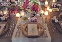 Put it All on the Table / Table settings and linens