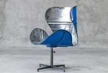 Upcycled seating
