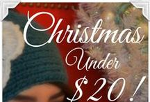 Christmas Gift Ideas Under $20! / Looking for the perfect Christmas gift but don't want to break the bank? Alaska Chicks has the answer for you!