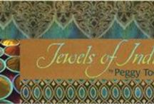 "Jewels of India by Robert Kaufman / ""Jewels of India"" Collection by Peggy Toole for Robert Kaufman"