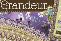 "Grandeur 1 by Robert Kaufman / ""Grandeur"" Collection by Studio RK for Robert Kaufman Fabrics"