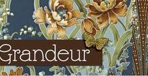 "Grandeur 2 by Robert Kaufman / ""Grandeur 2"" - Collection by Studio RK for Robert Kaufman Fabrics"