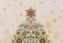 """Winter's Grandeur by Robert Kaufman / """"Winter´s Grandeur"""" by Robert Kaufman Fabrics"""