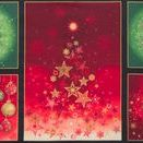 """Radiant Holiday by Robert Kaufman / """"Radiant Holiday"""" by Lara Skinner for Robert Kaufman Fabrics"""
