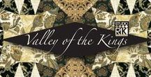 "Valley of the King 2 by Robert Kaufman / Robert Kaufman Fabrics - ""Valley of the King 2"" Collection Shipping October 2016"