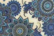 """Royalty by Timeless Treasures / """"Royalty"""" by Chong-a Hwang for Timeless Treasures Fabrics"""