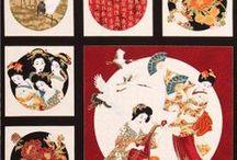 """Kabuki by Timeless Treasures / """"Kabuki"""" by Chong-a Hwang for Timeless Treasures Fabrics"""