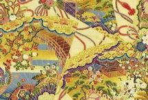 Quilt-Gate HR5903 Genji / Quilt-Gate: Hyakka Ryoran - Genji Fabrics Collection
