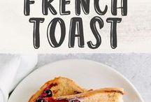 French Toasts/Tostadas Francesas / Las tostadas francesas o French Toasts son fáciles de preparar y puedes usar tu imaginación para probar siempre algo nuevo. Hay muchísimas recetas de gofres que te encantarán.