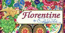 "Florentine by Robert Kaufman / ""Florentine"" Collection by Peggy Toole for Robert Kaufman Fabrics"