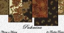 "Pashmina by Timeless Treasures / ""Pashmina"" by Chong-a-Hwang for Timeless Treasures Fabrics"