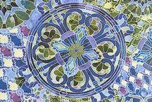 "Mosaic by Timeless Treasures / Timeless Treasures Fabrics - ""Mosaic"""