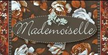 "Mademoiselle by Robert Kaufman / ""Mademoiselle"" collection by Robert Kaufman Fabrics"