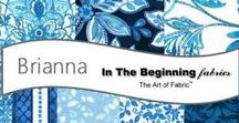 Brianna by In The Beginning Fabrics / 'Brianna' collection by Grey Sky Studio for In The Beginning Fabrics