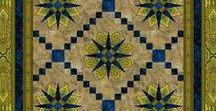 """Renaissance Garden by RJR Fabrics / """"Renaissance Garden"""" by Jinny Beyer for RJR Fabrics. 28 fabrics in all."""