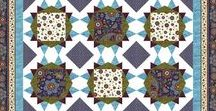 Fortuna by Timeless Treasures / Fortuna by Chong-a Hwang for Timeless Treasures Fabrics