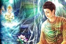 """Buddhist-Inspired Life / All of us have the potential to awaken to a peace and well-being that aren't dependent on whether a particular moment is joyful or sorrowful. Embracing our life in this way is the promise of peace left to us by the Buddha. In the words of Thich Nhat Hanh: """"It is exactly because the Buddha was a human being that countless buddhas are possible."""" I'd love for you to visit my website: www.tonibernhard.com / by Toni Bernhard"""