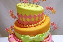 een lust voor het oog / taarten en gebakjes kunnen zo mooi zijn!