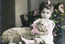 Vintage children  photos... / by Yvonne Klok