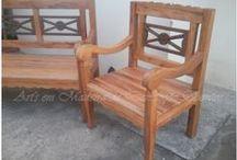Santos Art's / Moveis em madeira de demolição.....