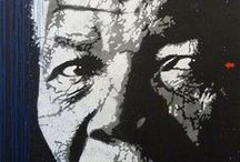 Madiba we love / Tata Mandiba. The father of our young South Africa, the legend and icon.